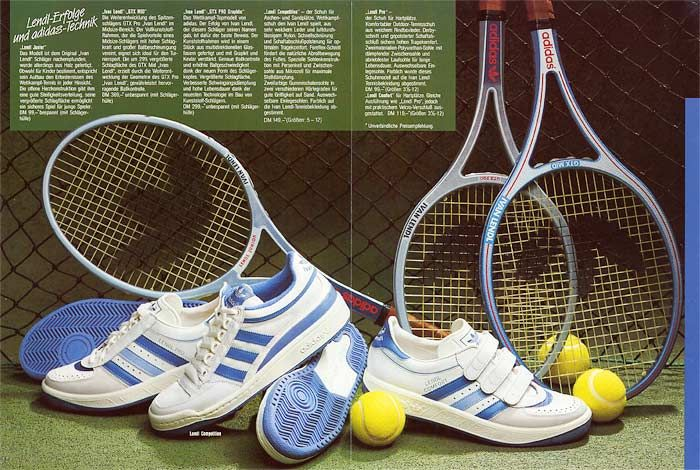 cheap for discount d7920 5b8be Adidas Ivan Lendl collection 1984 - 80s-tennis.com