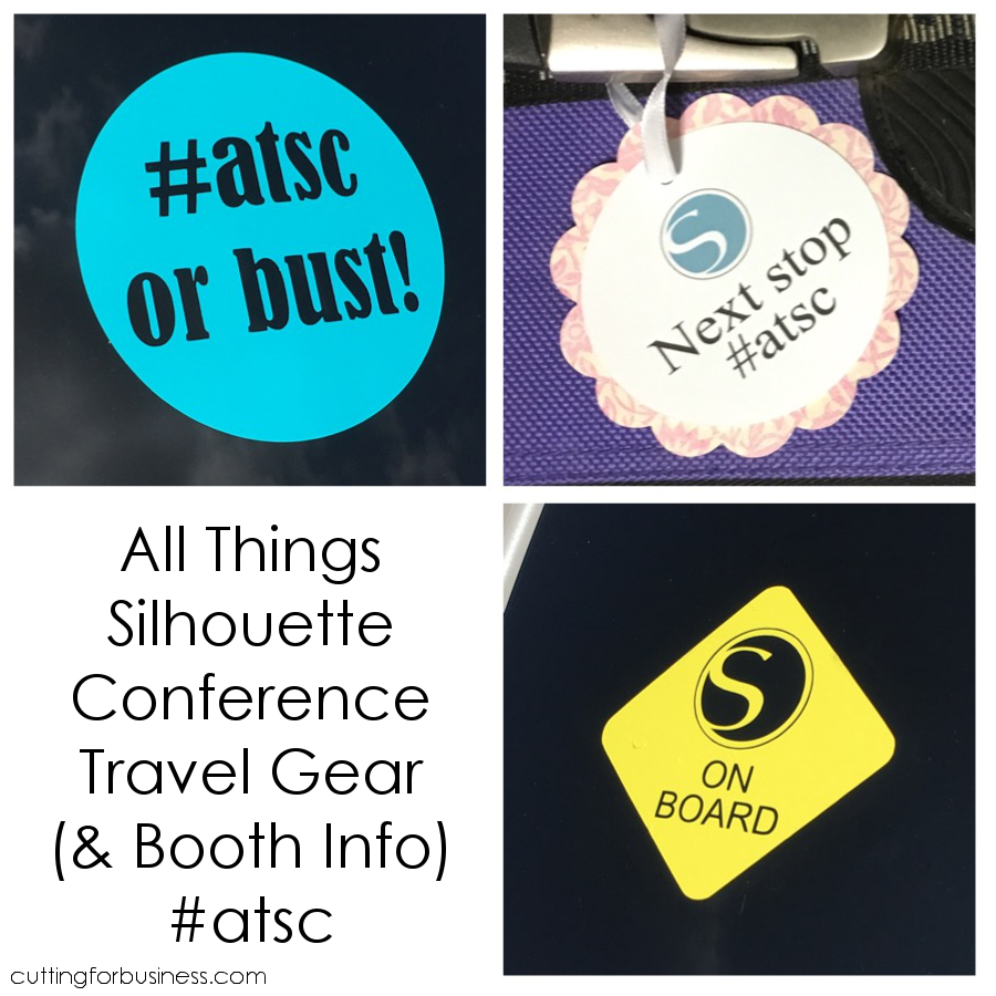 All Things Silhouette Conference Travel Gear - Free Cut Files #atsc by cuttingforbusiness.com