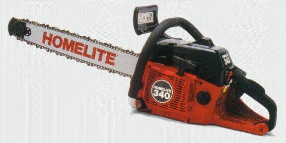 Homelite 340 | Homelite Chainsaws | Outdoor power equipment