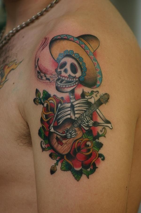 Mexican style tattoos for Mexican style tattoos