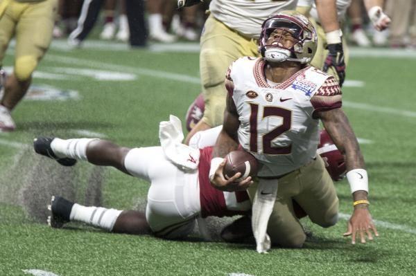 Florida State Seminoles Qb Deondre Francois Out For Season With Major Knee Injury Knee Injury Injury Florida State