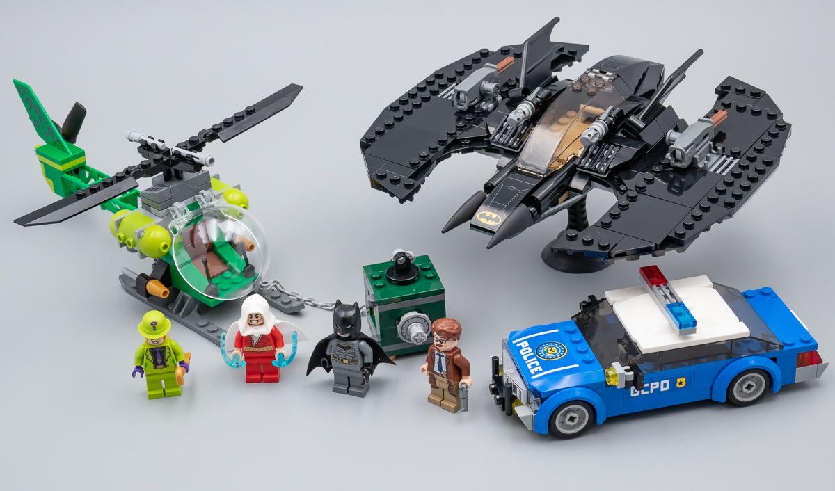 Très vite testé LEGO Batman 76120 Batwing and The
