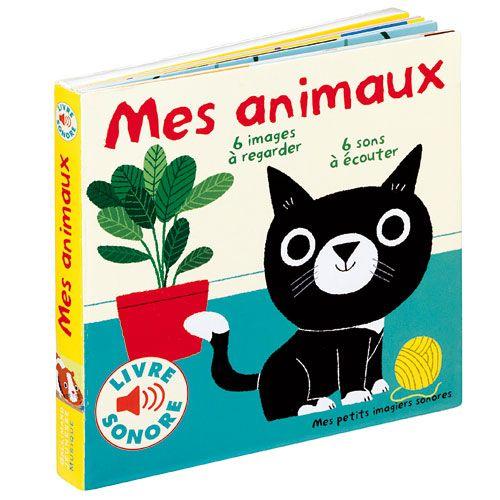 Livre Sonore Mes Animaux Pour Qu Il Apprend A Parler Avec