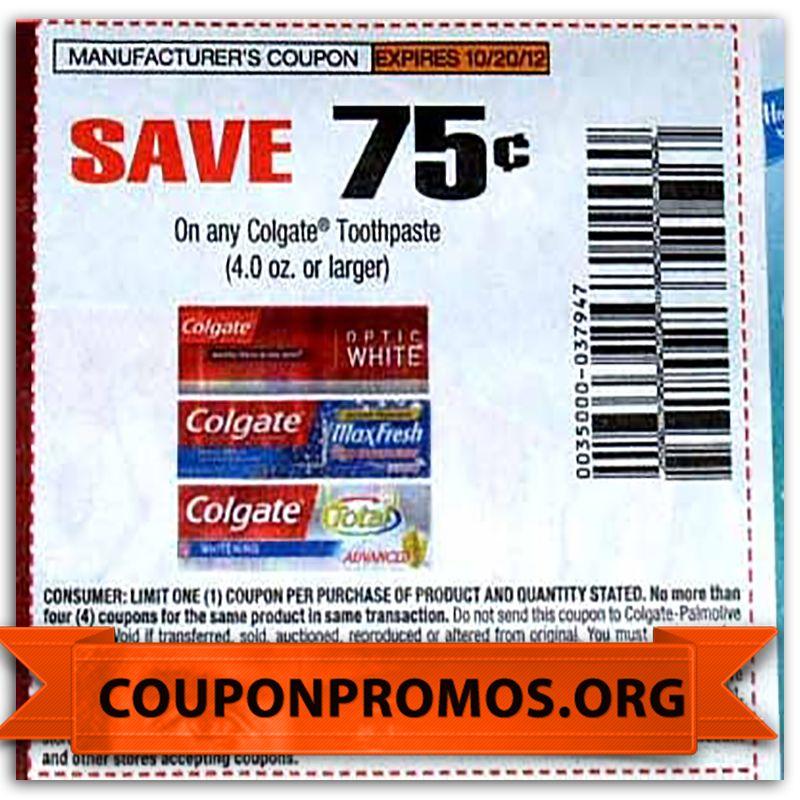 printable colgate coupon for June Printable coupons