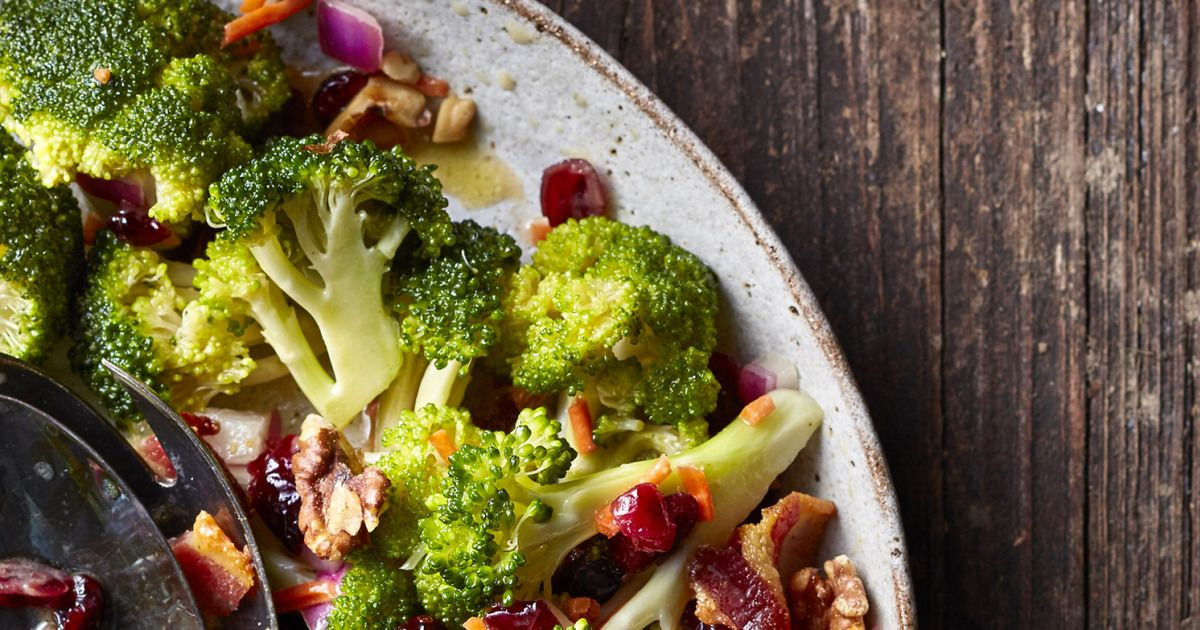 Valerie Bertinelli's Broccoli, Cranberry and Bacon Salad