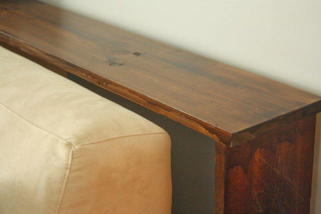 Urbane Jane Simple Diy Sofa Tables Diy Sofa Table Diy Sofa