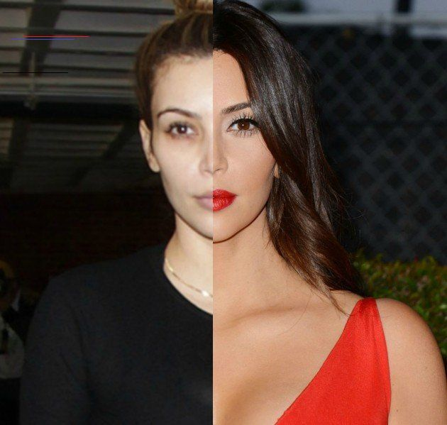 Photo of 29 Celebrities With & Without Makeup: From Regular Person to Red Carpet Ready! 1…