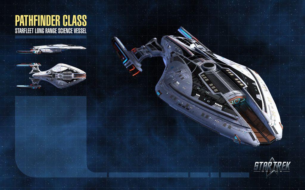 Pathfinder Class Starship For Star Trek Online By