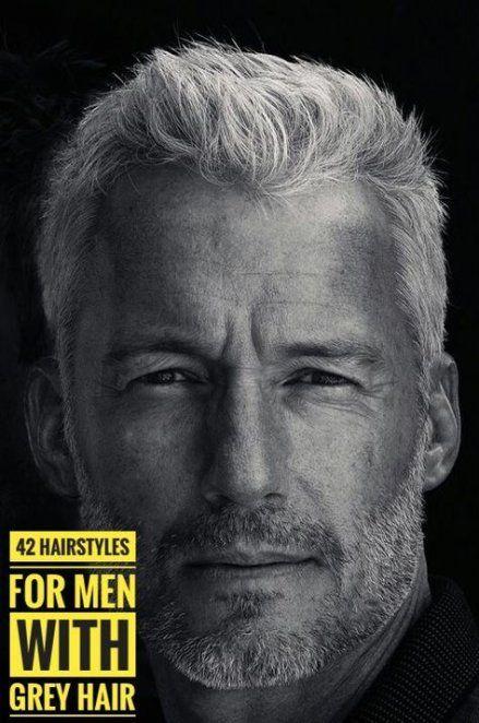 39+ Ideas Haircut For Men Over 50 Grey Hair | Grey hair