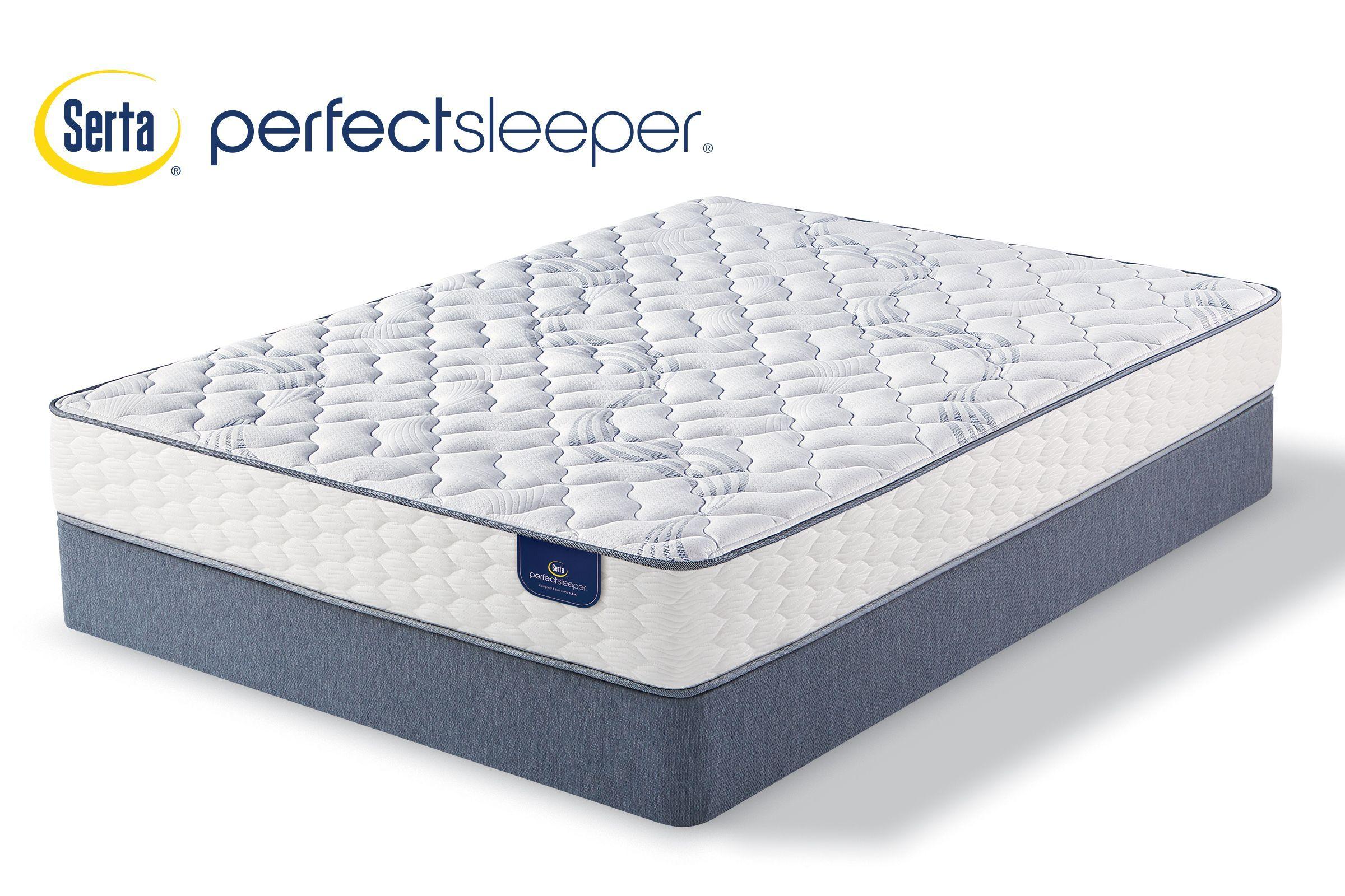 Serta Perfect Sleeper Romberg Firm King Mattress With 2 Low