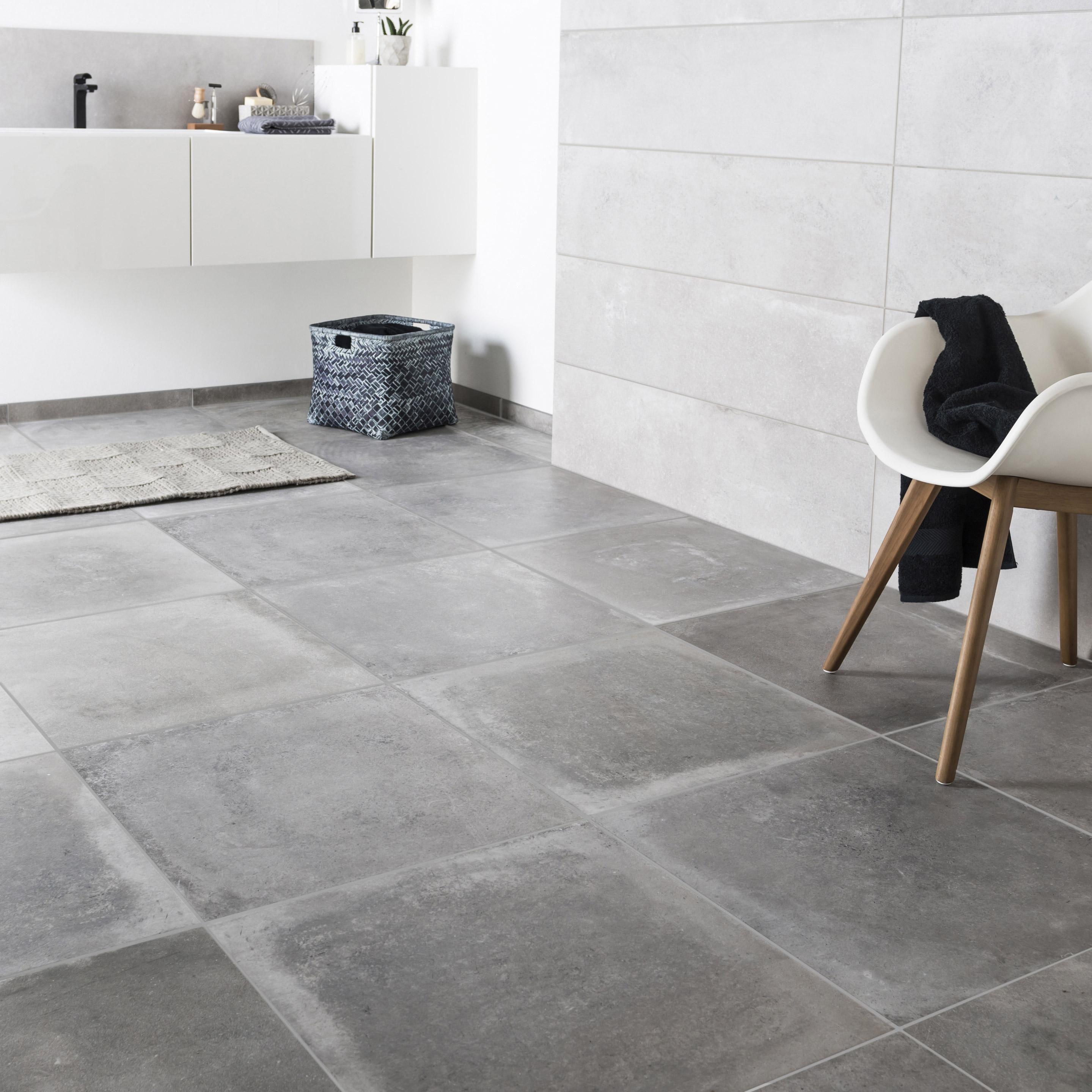 Prix Beton Ciré Sol carrelage sol et mur intenso effet béton gris cendre harlem