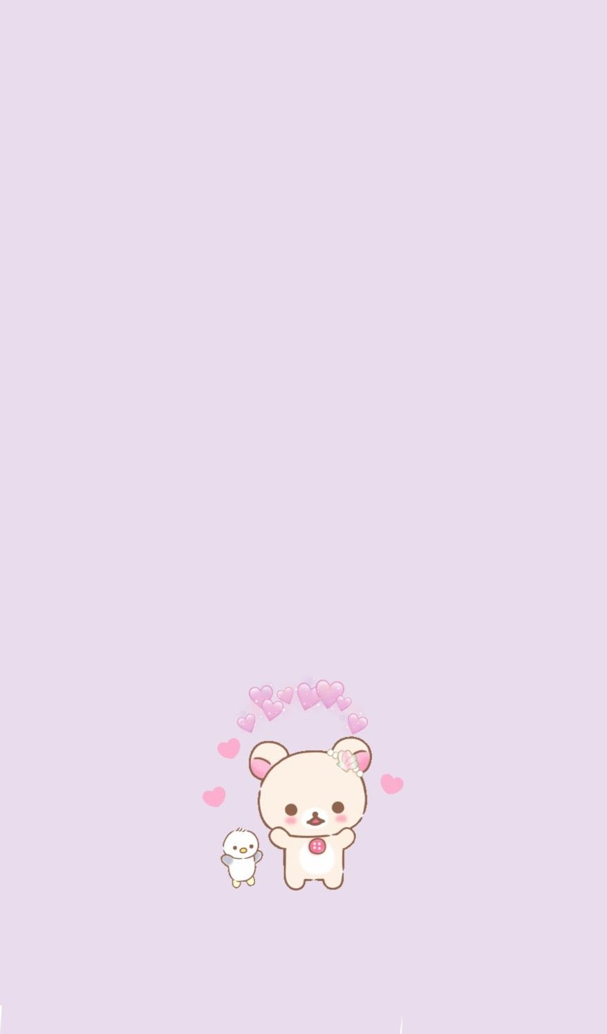 Korilakkuma Cute Pastel Wallpaper Pink Wallpaper Anime Rilakuma Wallpapers