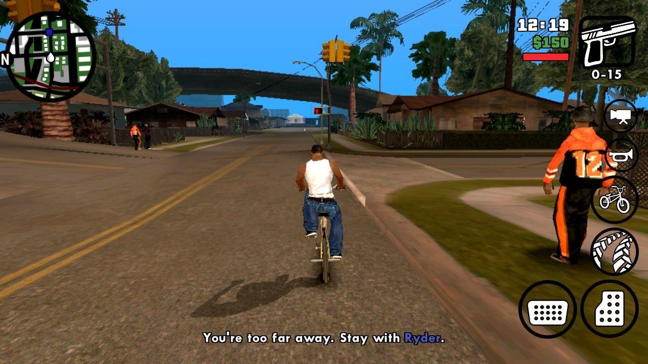 Grand Theft Auto San Andreas APK v1.08 Mod Ori For