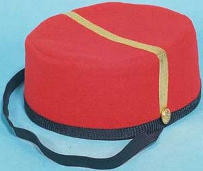 ca33556b21b4b5 Red Bell Boy Hat in 2019 | Costume Hats | Halloween hats, Costume ...