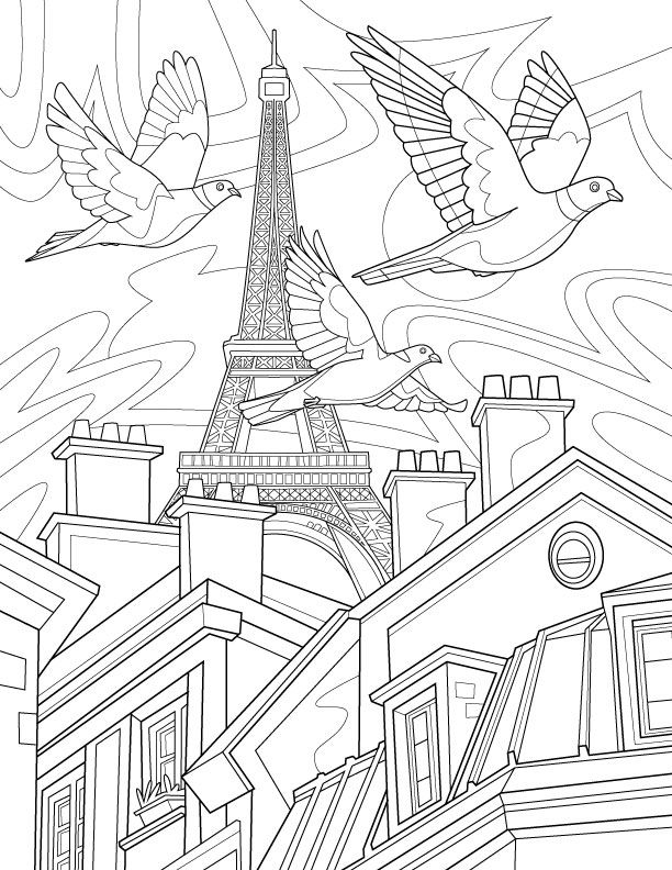 Birds of the World: Adult Coloring Book by Remy Simard | Adult ...