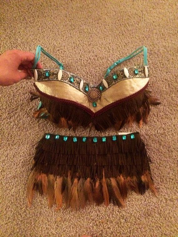 34B indian/tribal rave bra by OneLoveApparel on Etsy