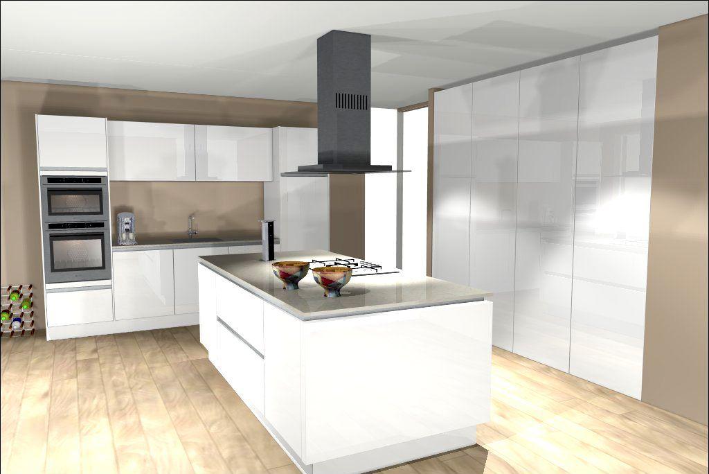 Een keuken met kookeiland is een veel gekozen keukenopstelling  Bekijk de 25 voorbeelden van