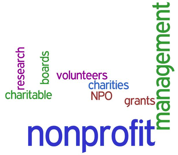Non profit, charitable, boards, research, volunteers, charities, NPO, grants, management