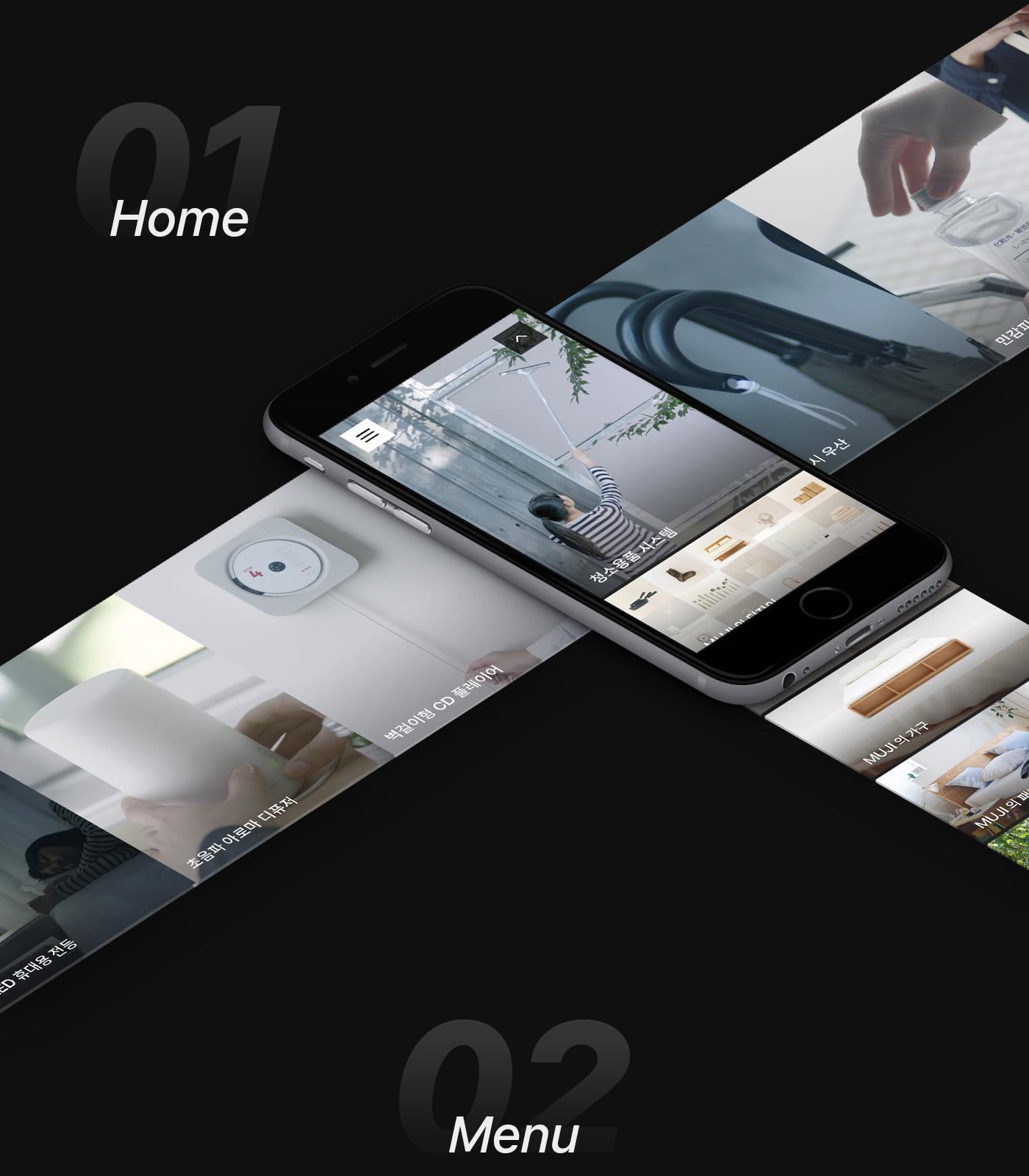 MUJI eCommerce Mobile App on Behance