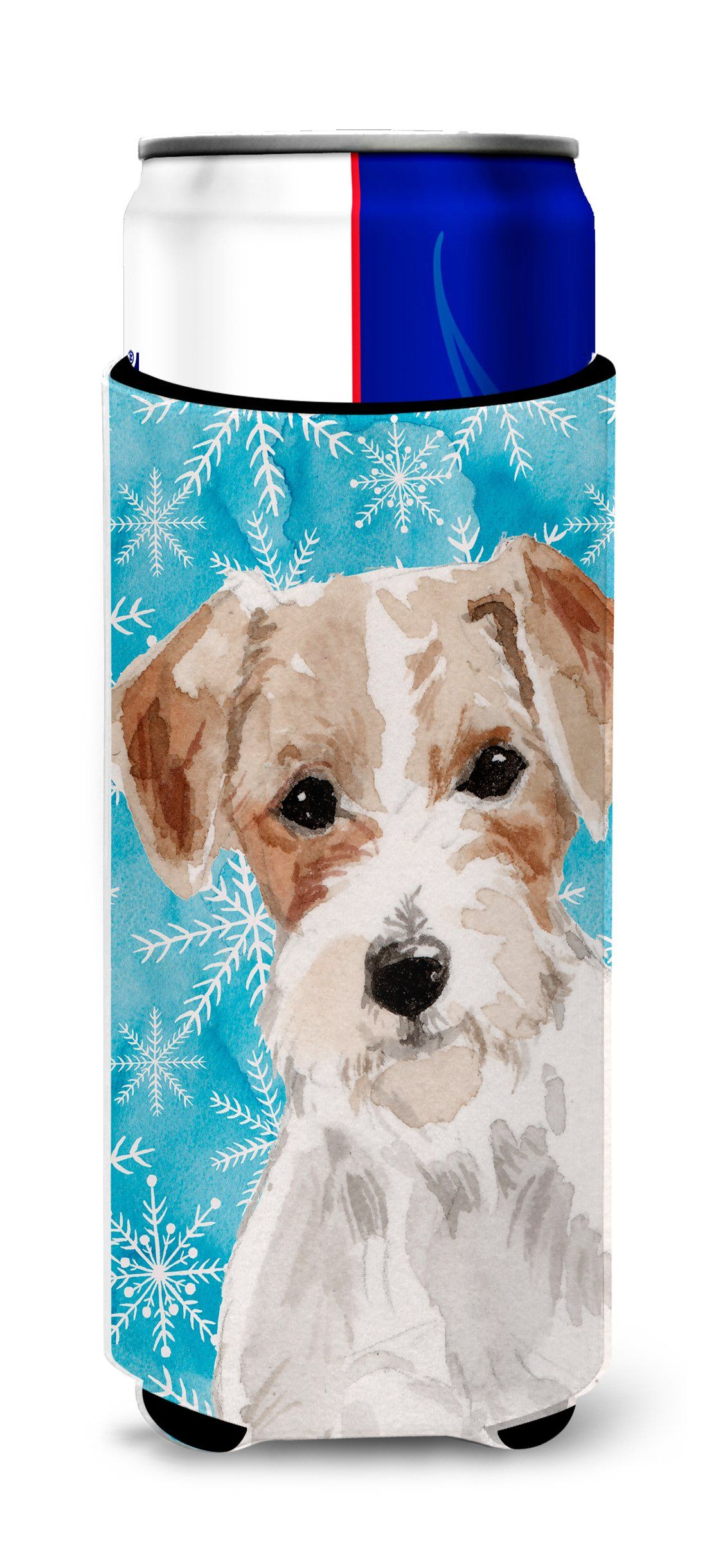 Wire Hair Jack Russell Winter Michelob Ultra Hugger for slim cans ...