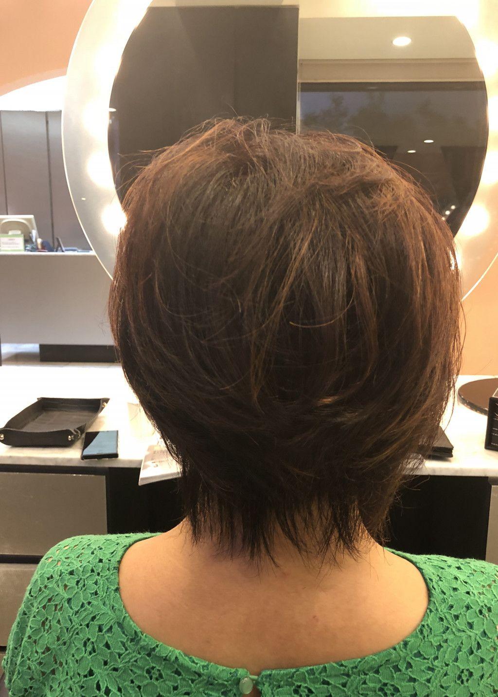 60代女性の髪型 ショートヘア ボブの人気カタログ50選 画像あり