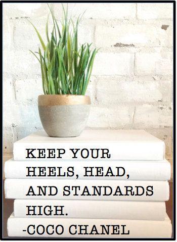 KEEP YOUR HEELS Head and Standards High by ShutTheFrontDoorLLC