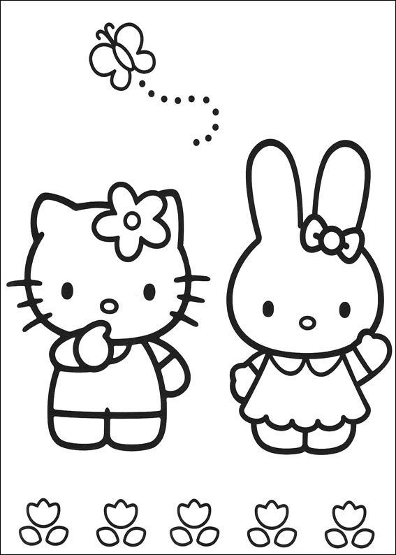 Friendship Coloring Pages Hello Kitty Coloring Hello Kitty Colouring Pages Kitty Coloring