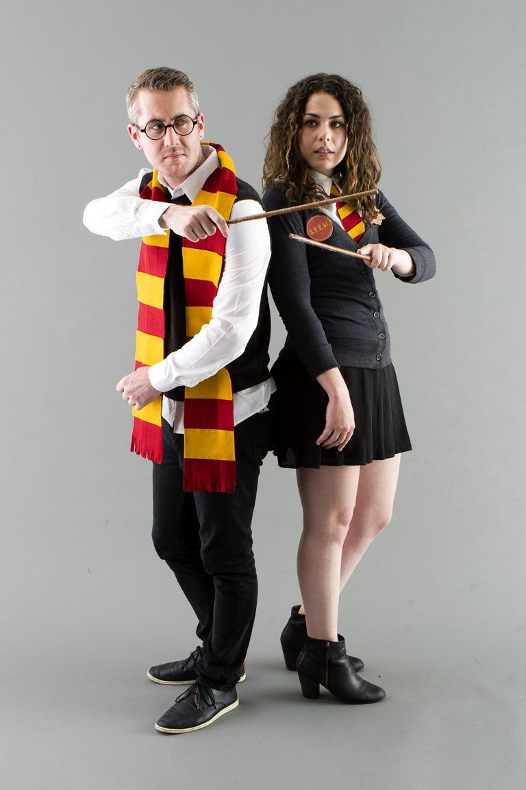 Bookmark this DIY Halloween couples costume idea to become wizards ...