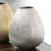 Sparkly Ribbed Vases
