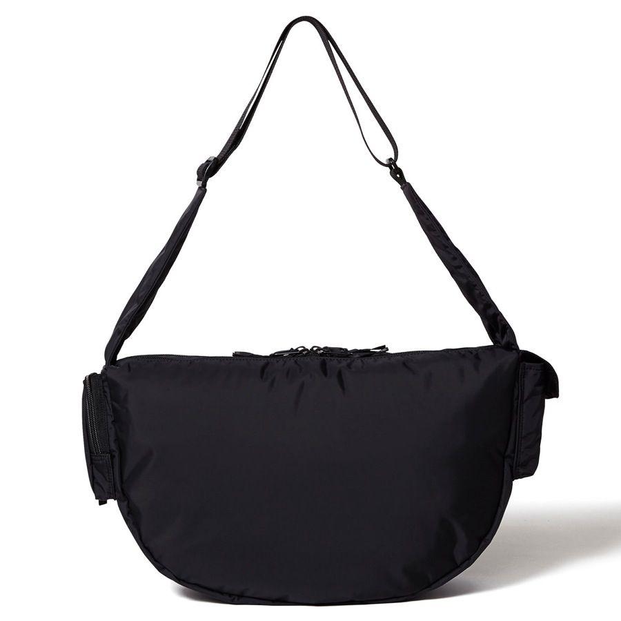 W Zip Shoulder Bag Black Beauty Head Porter Online