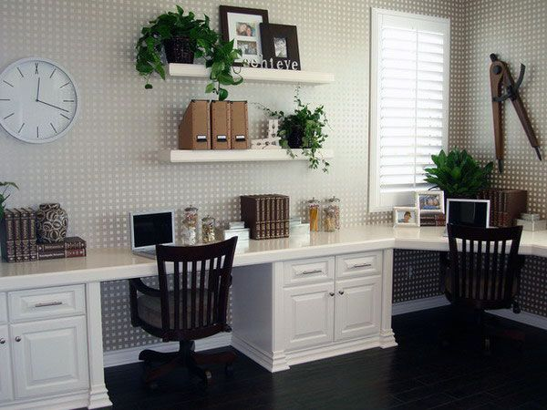 white shelves home office and offices on pinterest beautiful home office furniture