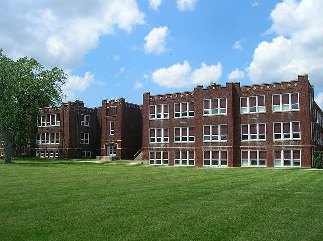 Old Elida High School. Is no more. I went to school here.