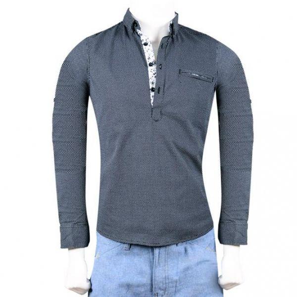 قميص رجالي تركي Qh5200a Mens Tops Mens Shirts Mens Tshirts