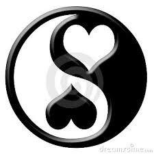 Yin yang liefdesverdriet
