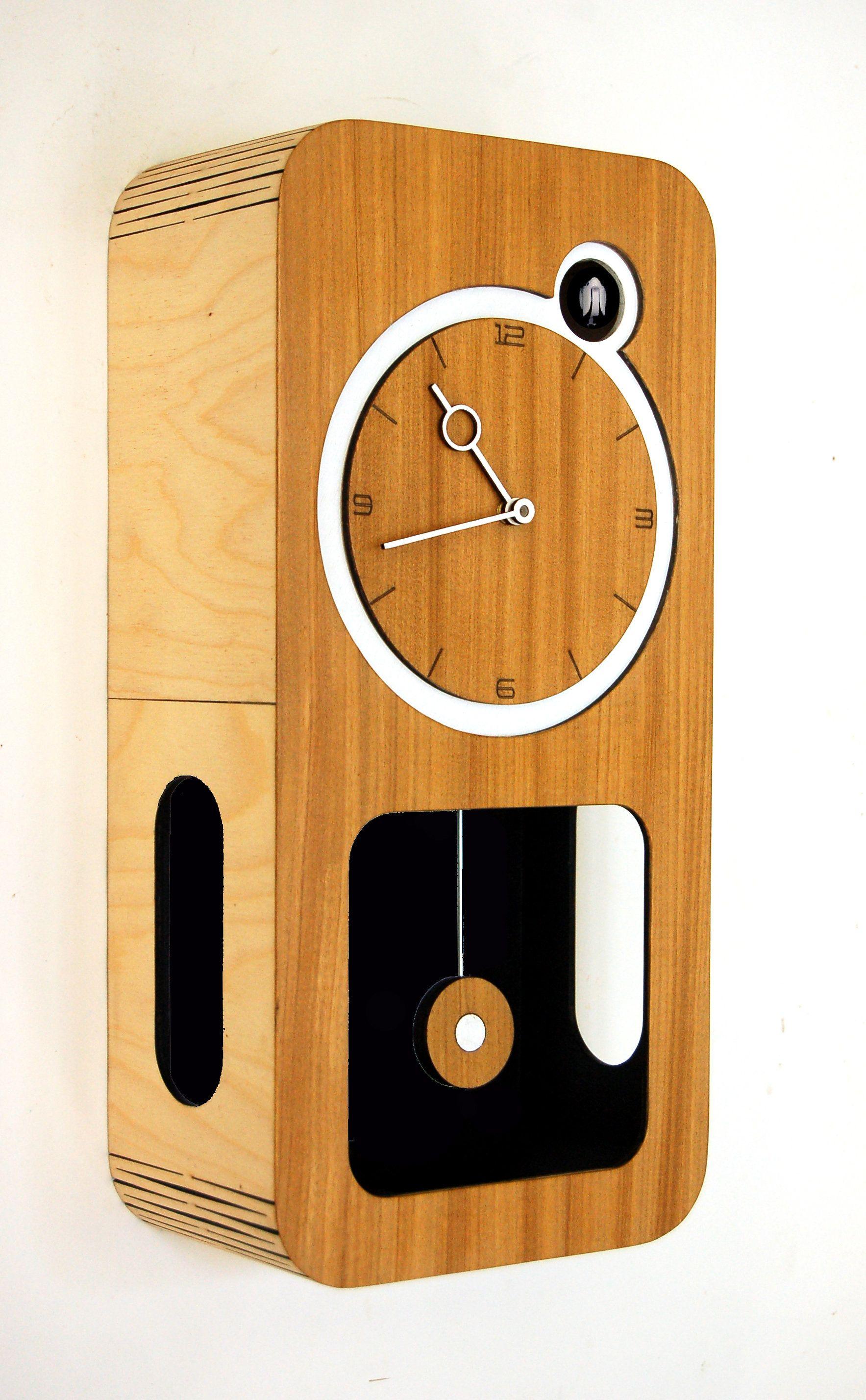 Cuckoo Clock Modern Cuckoo Clock Wooden Clock Cuckoo Clock