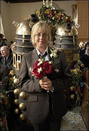 Image detail for -The Vicar of Dibley - The Vicar of Dibley Photo (383207) - Fanpop ... the bridesmaids were Daleks from Dr. Who.
