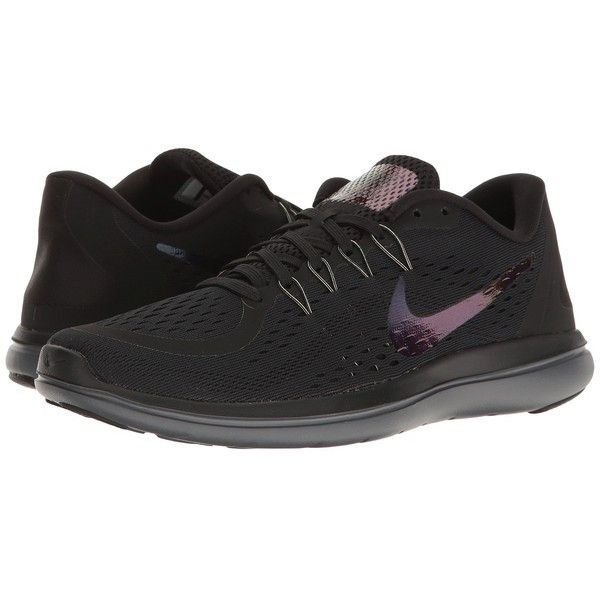 Nike Flex RN 2017 BTS (Black/Dark Grey/Dark Red) Women's Shoes