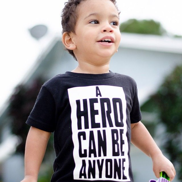 """#LeonardoMaximus is his Dark Knight inspired """"A Hero Can Be Anyone"""" shirt. Accepting pre orders via PayPal invoice. DM us for details"""
