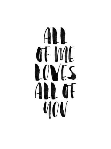 Giclee Print: All of Me Loves All of You by Brett Wilson : 48x36in
