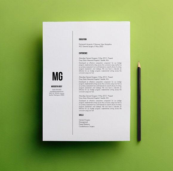 resume  u0026 cover letter template  creativework247