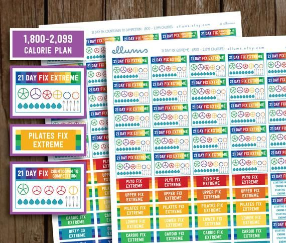 Printable Health And Fitness Planners And Printable Planner Stickers is part of 21 day fix extreme, 21 day fix planner, Weight loss planner, Beachbody 21 day fix, Fitness planner, Weight management plan - (Last Updated On July 6, 2018)This post may contain affiliate links  Please read my full disclosure here  This site uses cookies to provide a better user experience  See more about my privacy & cookies policy here  Do you rely on health and fitness planners to keep you on track throughout the year  Planning is key for maintaining a healthy lifestyle and sticking to a fitness and nutrition plan  The daily drudgery of life has a way of taking over and …