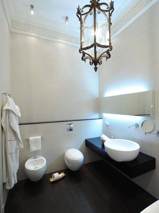 Toilet And Bidet Combination In Modern Bathroom Cool