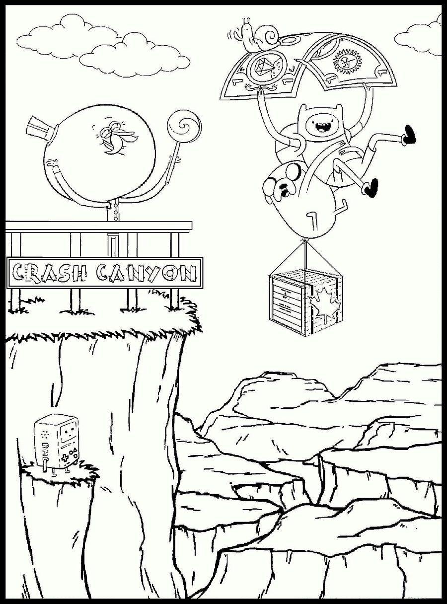 Adventure Time / Regular Show / Crash Canyon by TheWhiteEnglishman ...