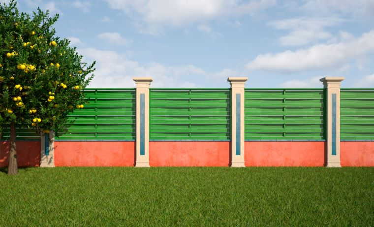 75 fence designs styles patterns tops materials and ideas - Wall Fencing Designs