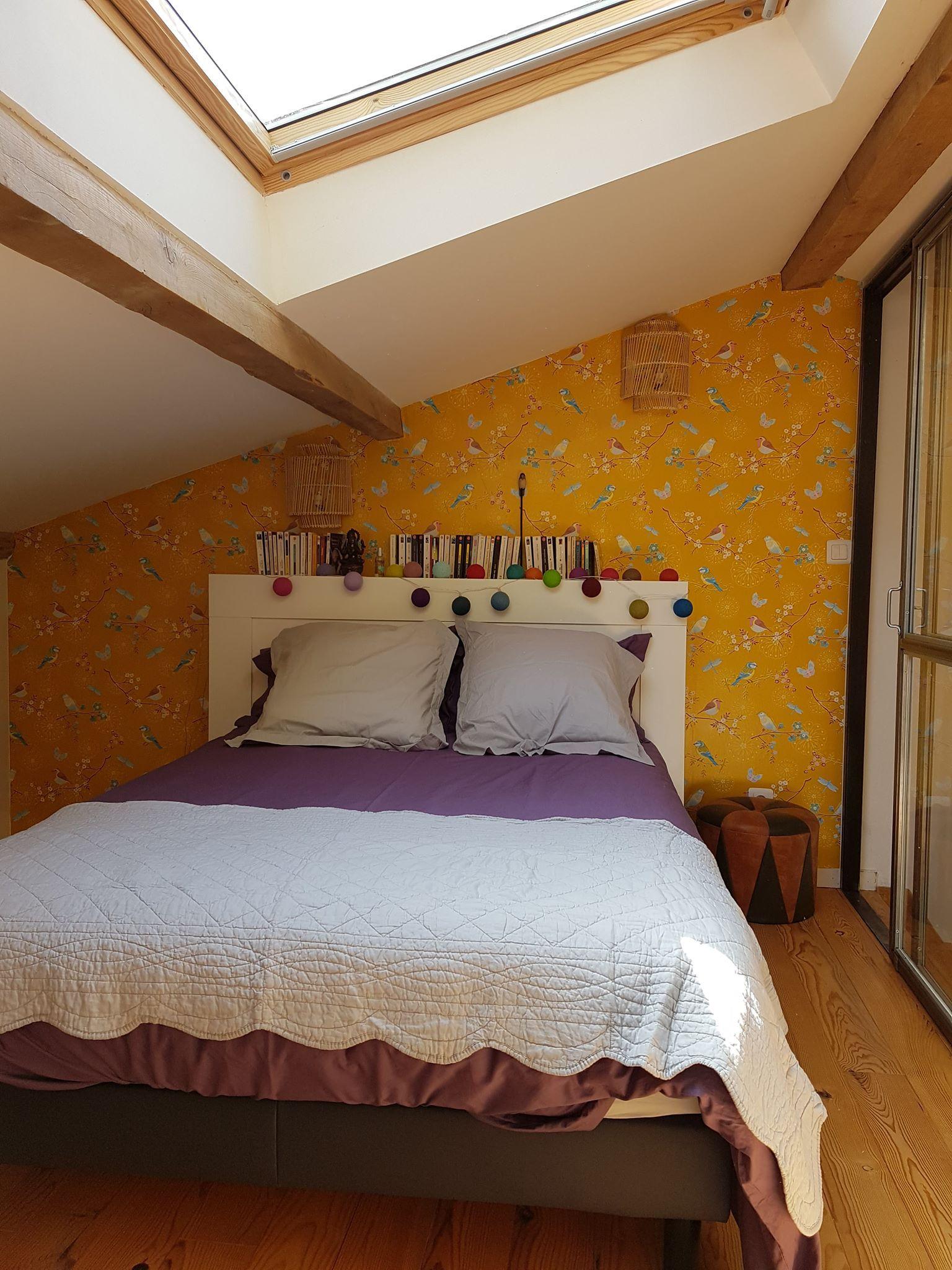 Papier peint Audrey Schlafzimmer ideen, Schlafzimmer und