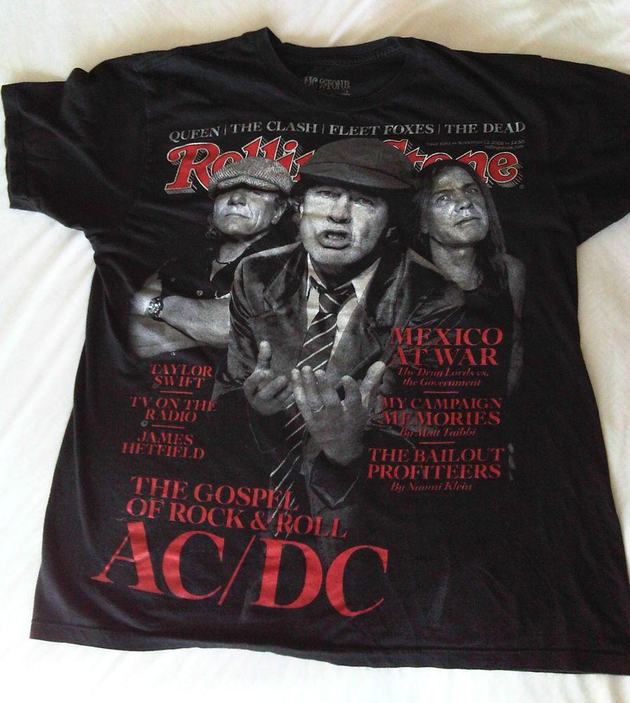 Clothing · AC/DC Rolling Stone Magazine ...