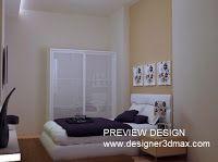jasa design kamar tidur sesuai referensi sketsa gambar