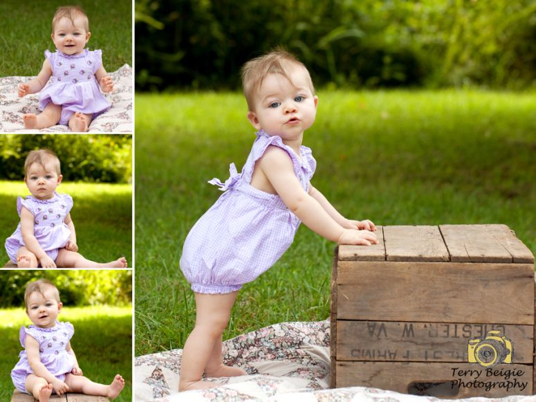 9 month old baby photography outdoors www terrybeigie com virginia