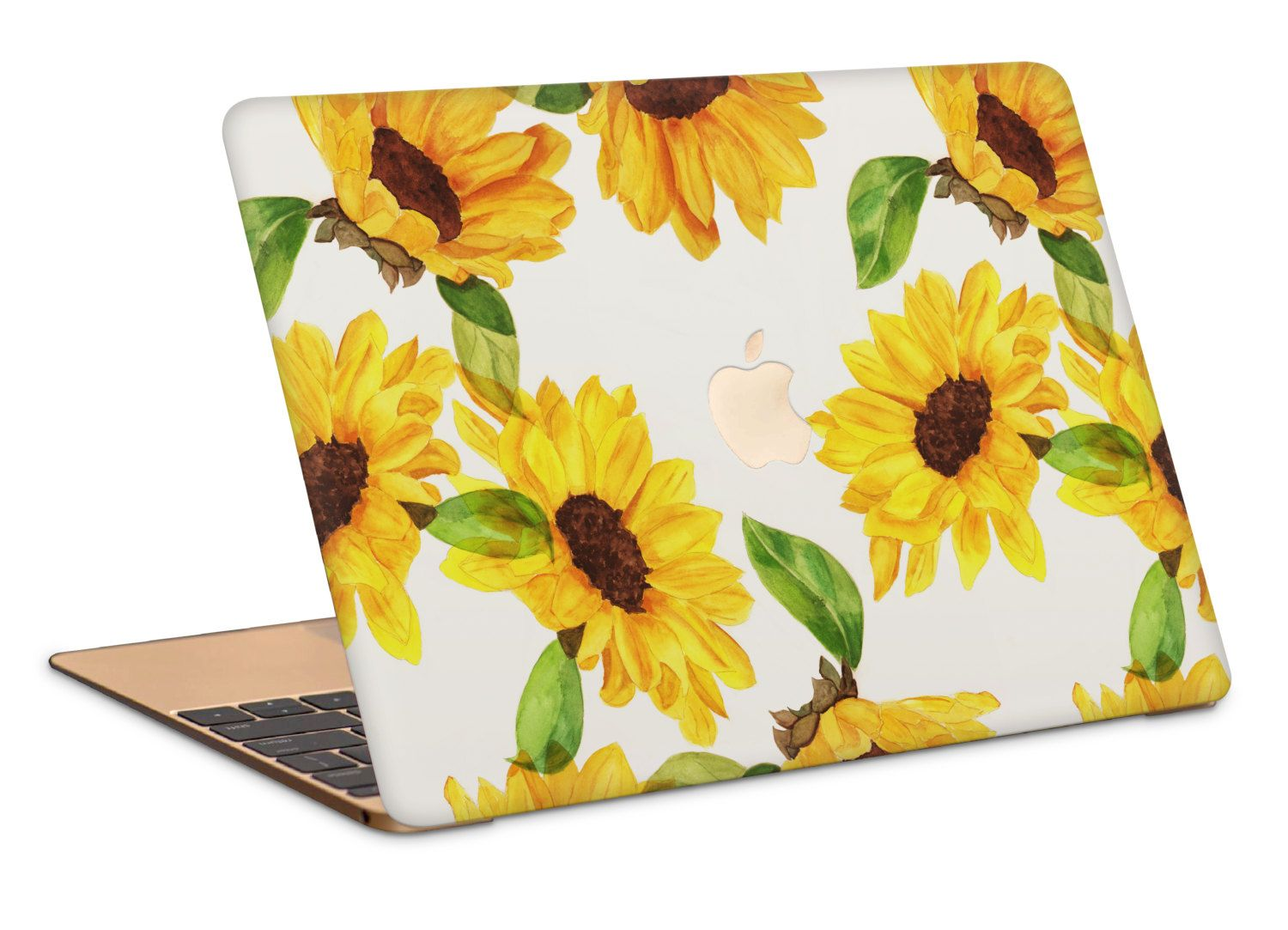 detailed look 5ff2c 55de0 Sunflowers Macbook Case by NJsBoutiqueCo on Etsy | macbook | Laptop ...