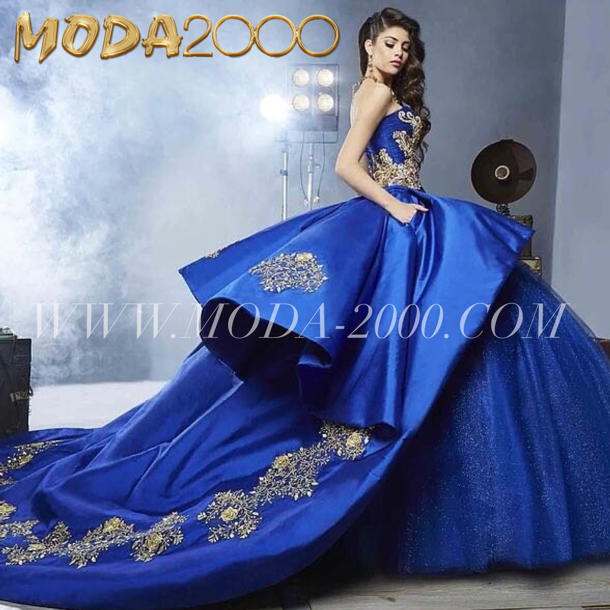 b6211873f06 jeweled navy blue gold charro quinceanera dress available at Moda 2000✨  Instagram   moda2000inc